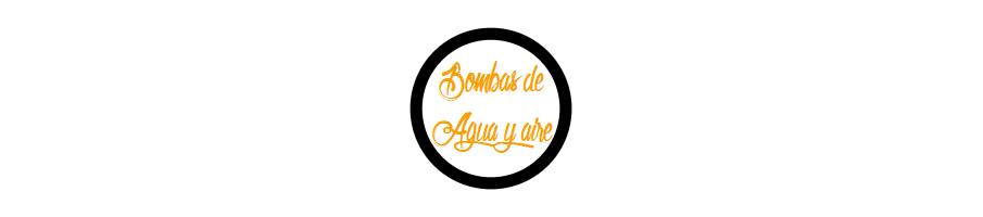 BOMBAS DE AGUA Y AIRE